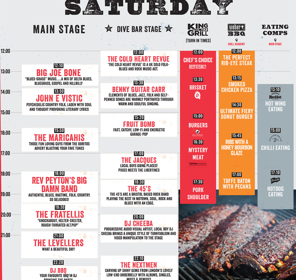 Grillstock Saturday