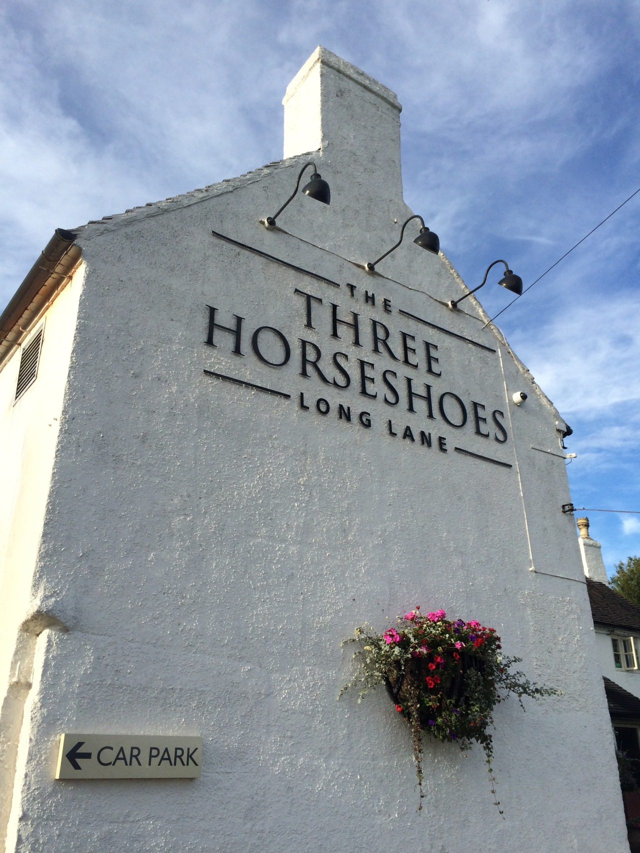 The Three Horseshoes,Derbyshire