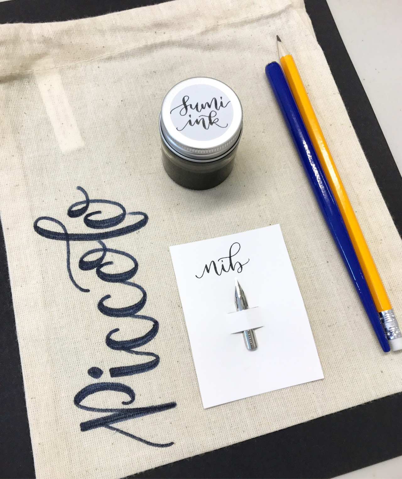 Modern calligraphy course with Mint Green Calligraphy,Derby
