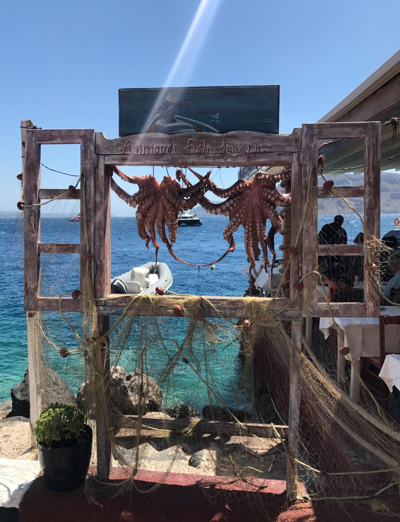 Ammoudi Fish Tavern, Ammoudi Bay,Santorini