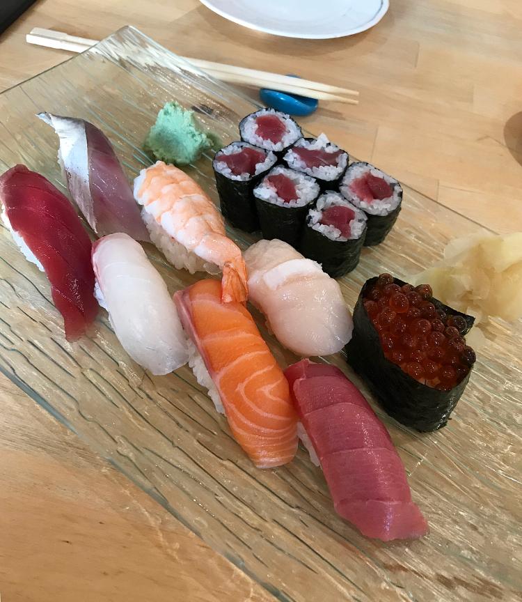 Ebi Sushi, Derby